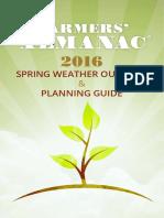 2016 Farmers Almanac Spring Guide