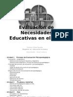 3.- Concepto Diagnóstico - Evaluación Psicopedagogica