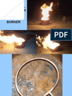 COPPER TUBING BURN BARREL