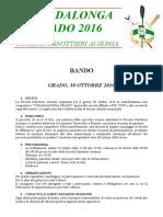 Bando Vogadalonga Grado 2016