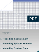Modelling Requirement