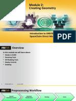SCDM-Intro Module02 Creating Geometry