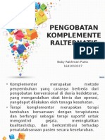 Herbal Medicine Boby Rakhman Putra 1641013317