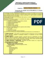 Directrices y Orientaciones Lengua Extranjera (Frances) 2014 2015