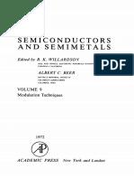 (Semiconductors and Semimetals 9) R.K. Willardson and Albert C. Beer (Eds.)-Modulation Techniques-Academic Press (1972)