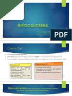 Expo Final Hipocalcemia
