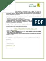 Instructivo Socio Empresarial Postulante Externo