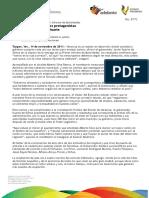 14 11 2011 - El gobernador Javier Duarte de Ochoa, promueve su Primer Informe de Actividades.