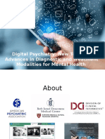 Is there an app for that? Advances in treatment of mental health by smartphone apps, telepsychiatry and other new technology