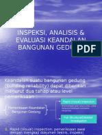 Inspeksi, Analisis & Evaluasi Keandalan Bangunan Gedung (Techical)