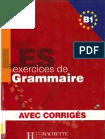 Les 500 Exercices de Grammaire B1