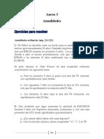 Ejercicios de Anualidades Matemáticas Financieras