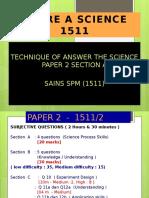 Teknik Menjawab Sains