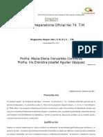 Diagnostico 3 I y II 2015-2016