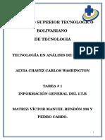 Informacion General Del Itb-pedro Carbo Matriz
