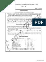 NEST Solved Paper 2015