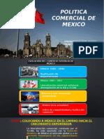 Politica Comercial de Mexico
