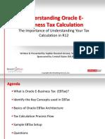 Understanding Oracle EBtax Setup & Calculation.pdf