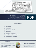Resumen Bubbles and Crashes