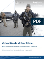 Violent Words, Violent Crimes