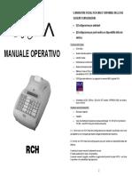 Istruzioni d'Uso RCH