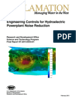 Engineering Controls for Hydroelectric Powerplant Noise Reduction