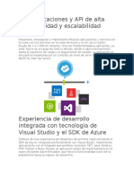 Cree Aplicaciones y API de Alta Disponibilidad y Escalabilidad Infinita