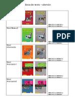 Libros de Texto Aleman 2015 16