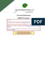 PR-1696 Hazop Procedure