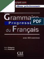 Français Niveau Perfectionnement