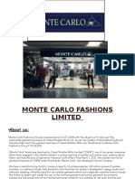 Monte Carlo Fashions Limited