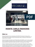 Monte Carlo Fashions Limited
