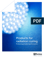 Products for Radiation Curing
