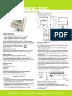 EKM Omnimeter Pulse v.4 Spec Sheet