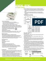 EKM OmniMeter UL User Manual Spec Sheet Submeter