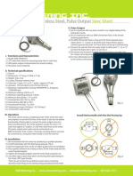 EKM SPWM 075 Water Meter Spec Sheet