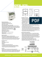 EKM-353 Smart Submeter Spec Sheet
