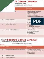 Presentacion Curso DISEÑO de TRABES