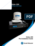 Globe i250 Pre-Installation Guide (Reduced File Size)