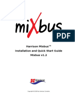 Mixbus Install & Quick Start Guide