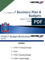 Metro Budget Presentation