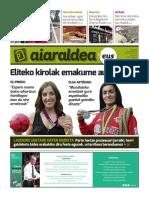 Aiaraldea Egunkaria 55. zenbakia