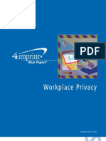 Workplace Privacy Blue Paper