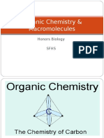 Organic Chemistry Macromo Honors