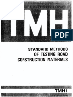 Tmh1-Method b Tests on Aggregates