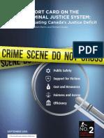 Justice Report Card