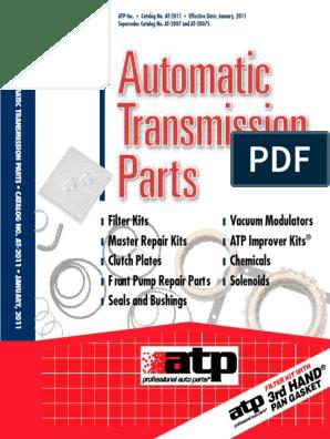 ATP B-208 Automatic Transmission Filter Kit