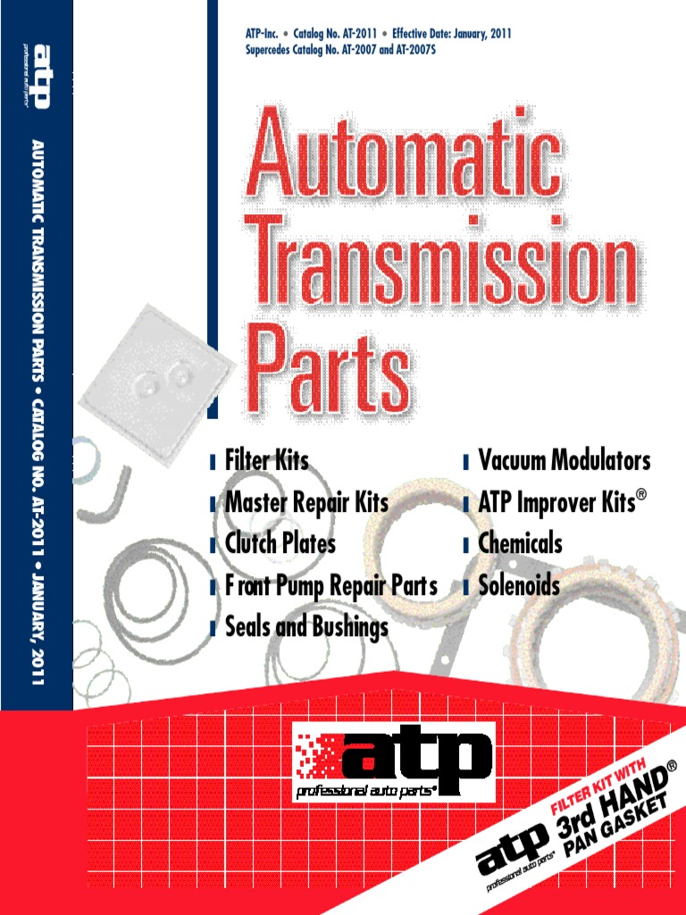 ATP Automatic Transmission Parts A//T Filter Kit  B235