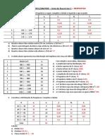 Lista de exercícios 1 - Estatística - UNIFEI - RESPOSTAS.pdf