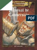 D&D - Manual de Conversi+¦n (AD&D a D&D 3.0).pdf